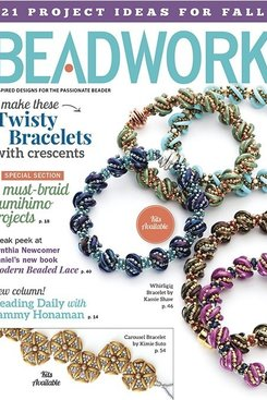 Magazines & Books Beadwork - 2016 10 Oct / Nov