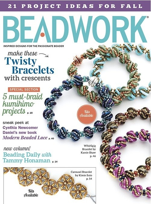 Magazines & Books Beadwork - 2016 10 Oct / Nov
