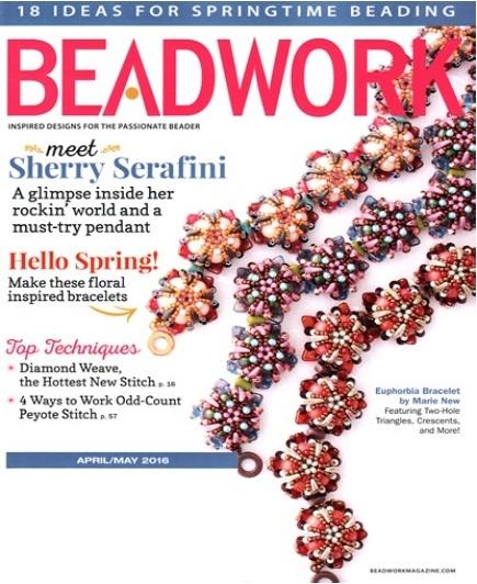 Magazines & Books Beadwork - 2016 04 April / May