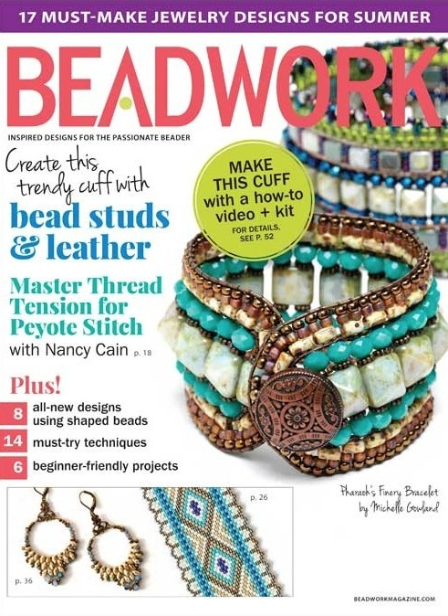 Magazines & Books Beadwork - 2015 06 Jun. / Jul.