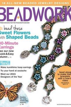 Magazines & Books Beadwork - 2015 02 Feb. / Mar.