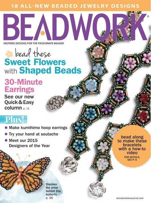 Magazines & Books Beadwork - 2015 02 Feb. / Mar.