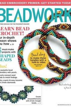 Magazines & Books Beadwork - 2015 04 Apr. / May