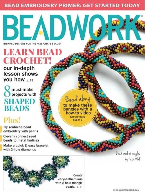 Magazines & Books Beadwork - 2015 04 Apr. / May