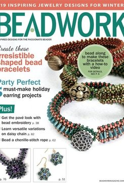 Magazines & Books Beadwork - 2014 12 Dec. / Jan. 2015