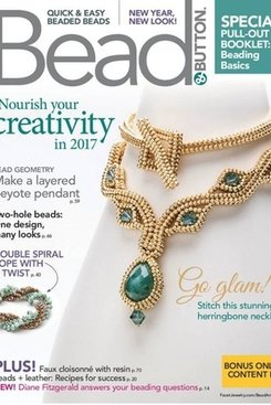 Magazines & Books Bead & Button-2017 02 February
