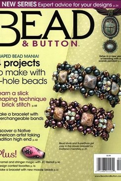 Magazines & Books Bead & Button-2015 02 February