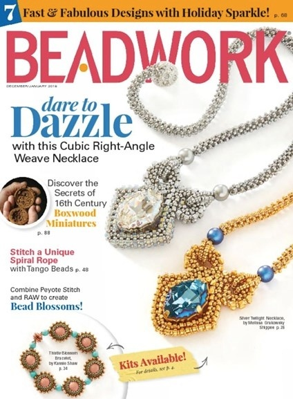 Magazines & Books Beadwork - 2017 12 Dec / Jan
