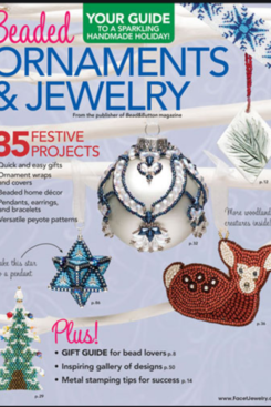 Magazines & Books Bead & Button-2017 Beaded Ornaments & Jewelry