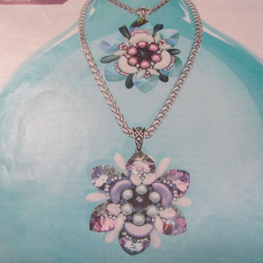 Classes 10/19 2-5pm Flickering Floral Pendant Instruction - Gail Bloom