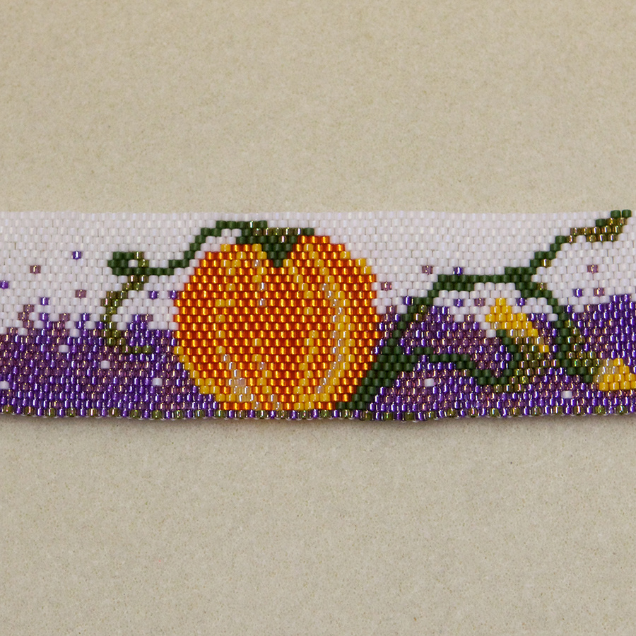 Pumpkin Patch Bracelet Instruction