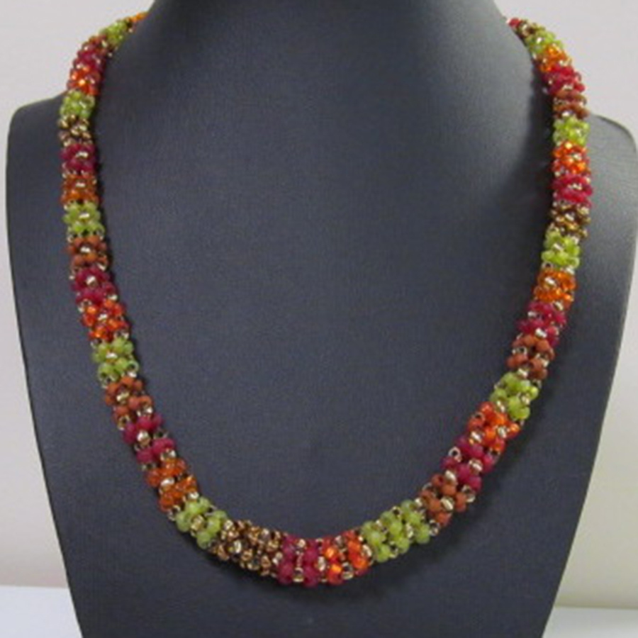 Seasonal Splendor Necklace Class Materials Kit