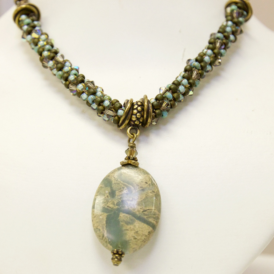 10/29 6-9pm Kumihimo Necklace - Class Instruction