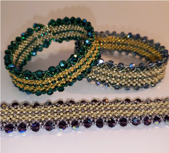 Classes 7/25 11-5 Rue des Doubles Reves Bracelet WEBINAR Instruction with Diane Whiting
