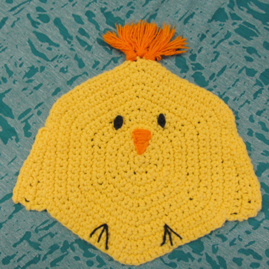 4/14 6-9pm  Month by Month Dishcloths - April Instruction