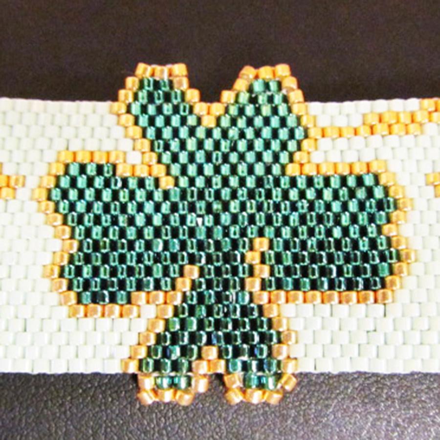 3/17 1-4pm Shamrock Bracelet Class Instruction - Nancy Zastudil