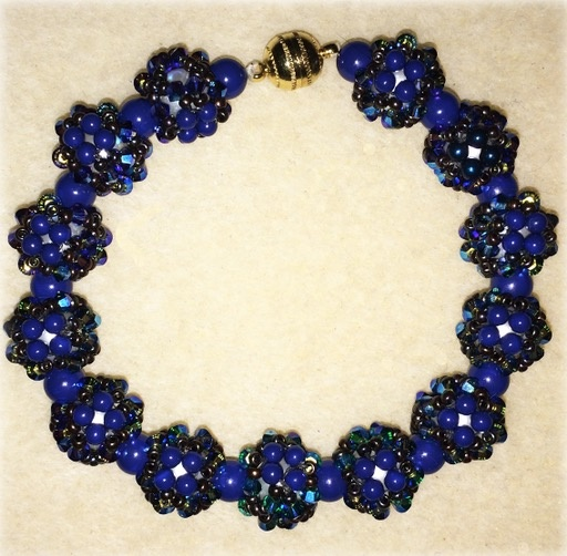 Store Kits - SF Disco Ball Bracelet Kit- Swarovski Crystals - Swarovski Pearls, Crystals & Seed Beads