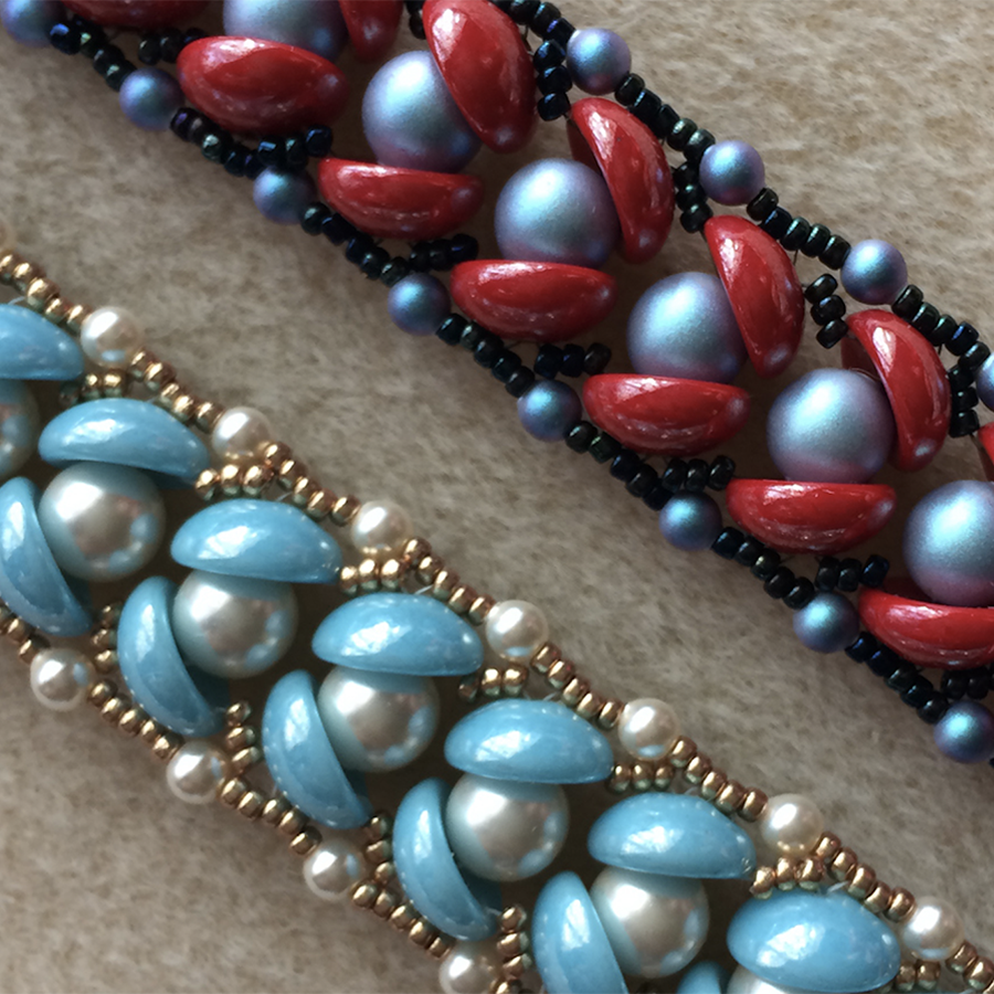 Store Kits - SF Pearls in a Half Shell Bracelet Instruction & Materials Kit
