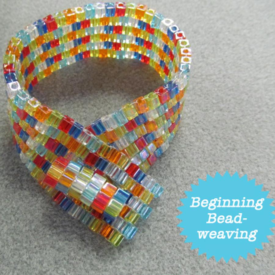 Joy Squared Bracelet Class Materials Kit - Cube Beads
