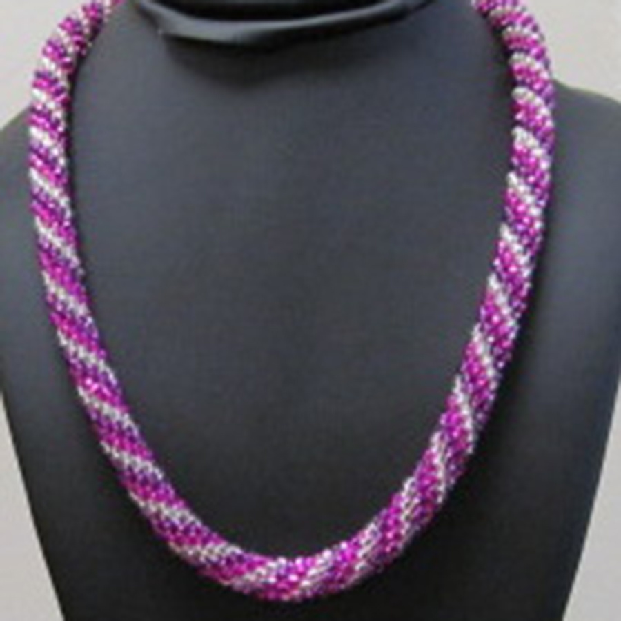 12/07 2-5pm - Bead Crochet Necklace Instruction  - Andrea Wong