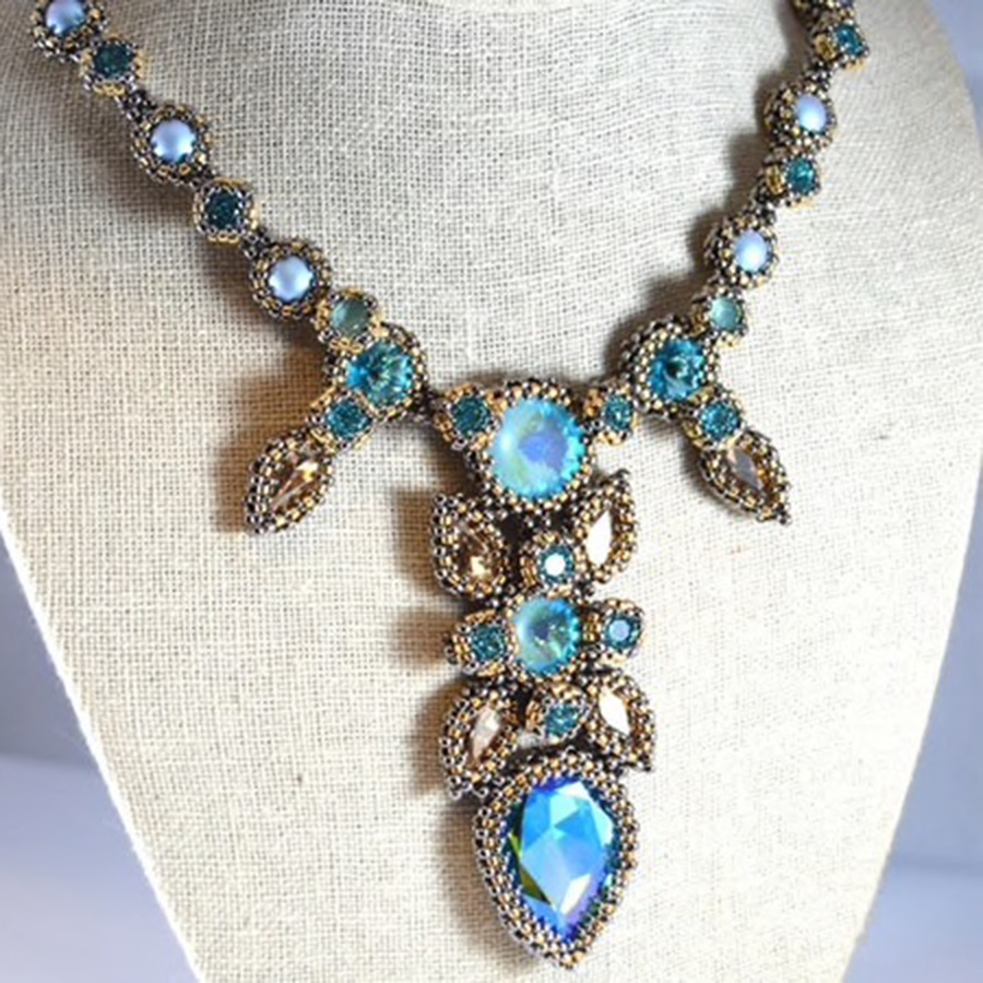 11/14 11-5p Ocicat Necklace Remote Webinar Instruction - Liisa Turunen