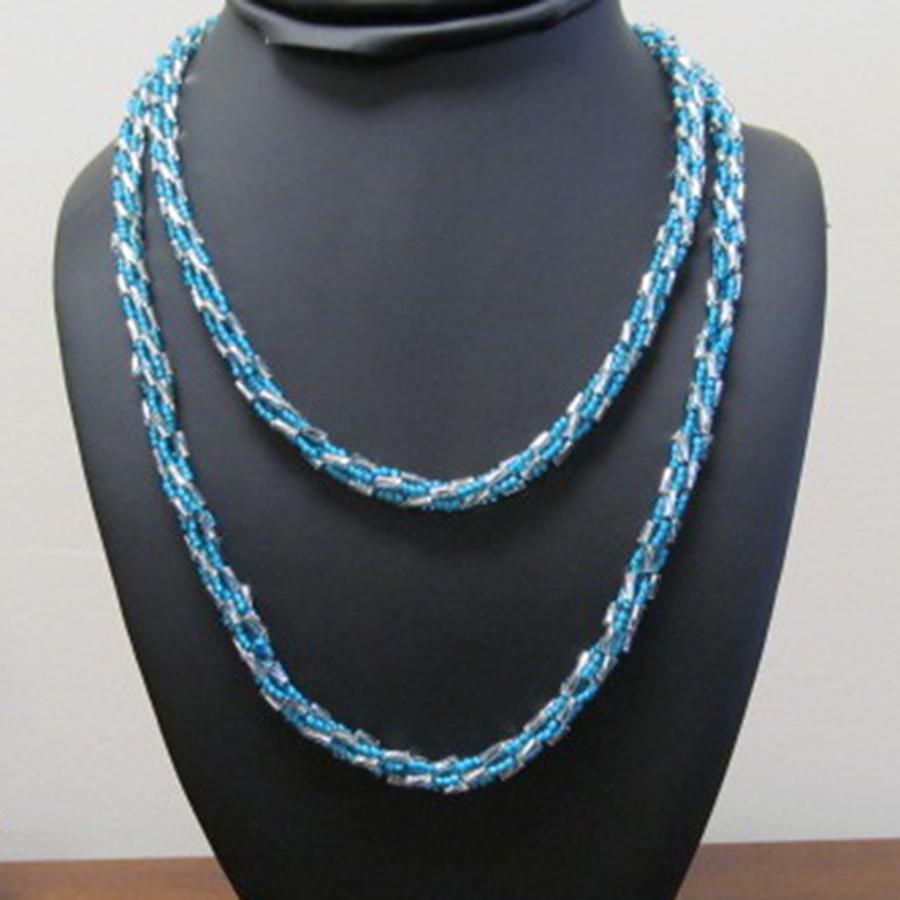 necklace Turkish Bead Crochet Necklace Kit -