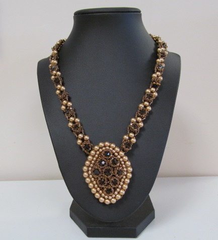 Classes 05/24 2-5pm Precious Pave Necklace Instruction