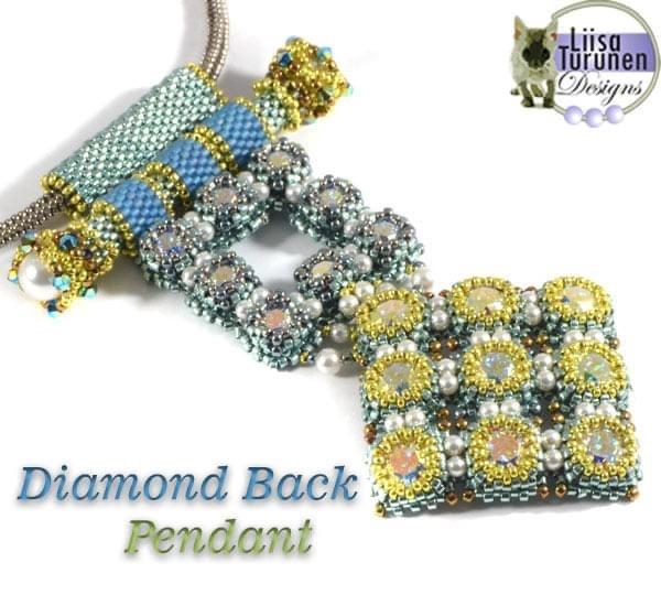Classes 08/15 11am-5pm Diamond Back Pendant Class & Webinar