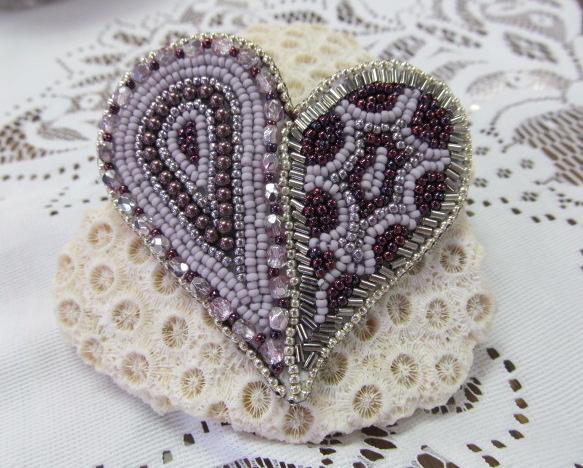 Store Kits Bead of My Heart Pin Class Kit