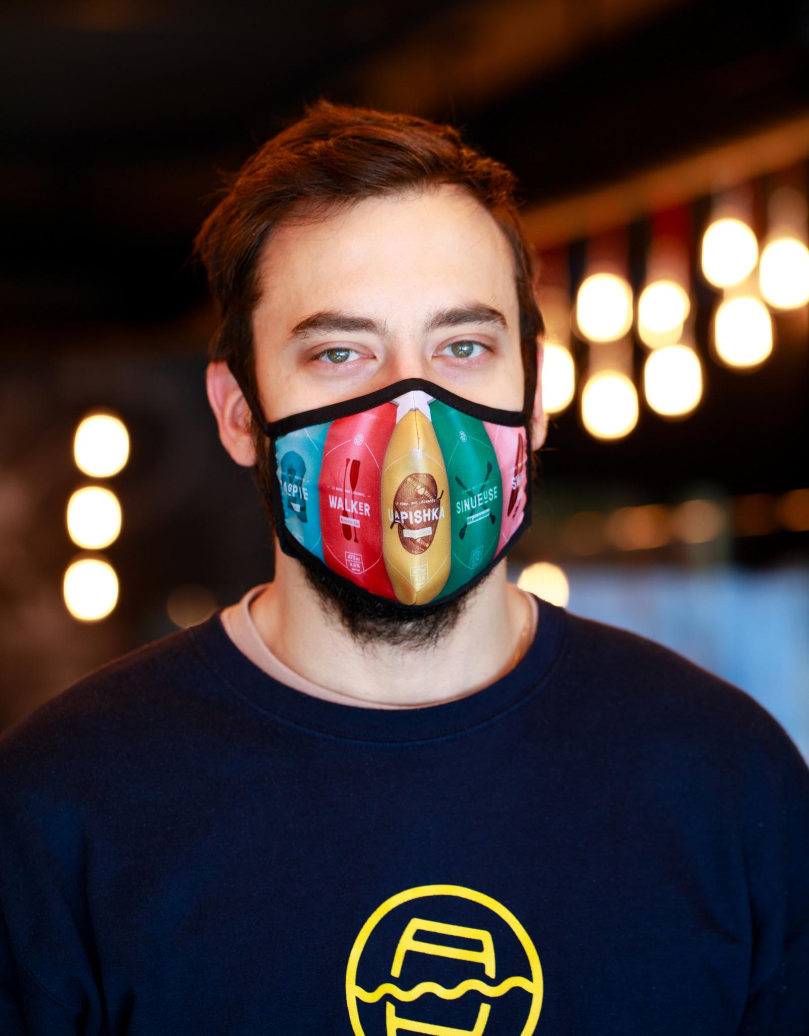 Voltige Masque en tissu