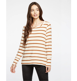 chaser chaser split cuff pullover