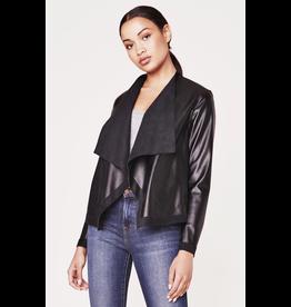 bb dakota bbdakota teagan reversible faux leather jacket