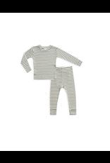 rylee cru rylee + cru ribbed pajama set