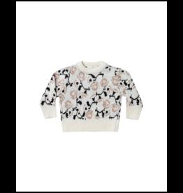 rylee cru rylee + cru vintage rose pullover