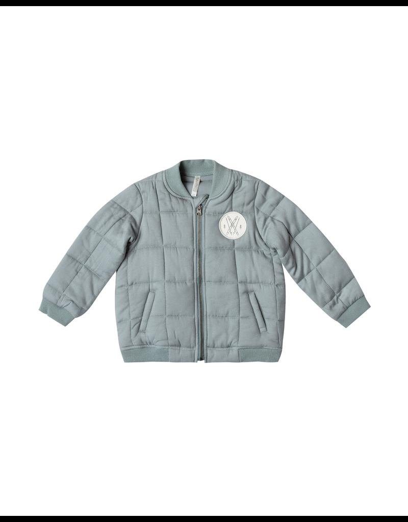 rylee cru rylee + cru quilted bomber jacket