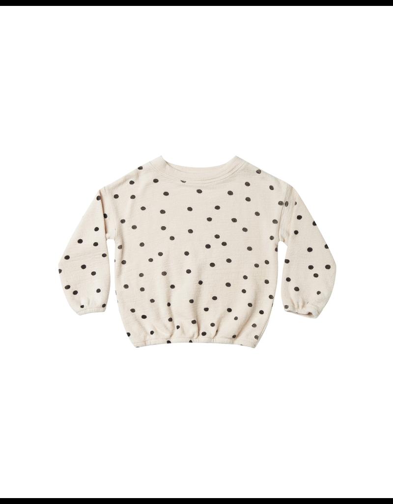 rylee cru rylee + cru dot pullover sweater