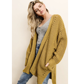 flight lux dress forum chunky knit cardigan