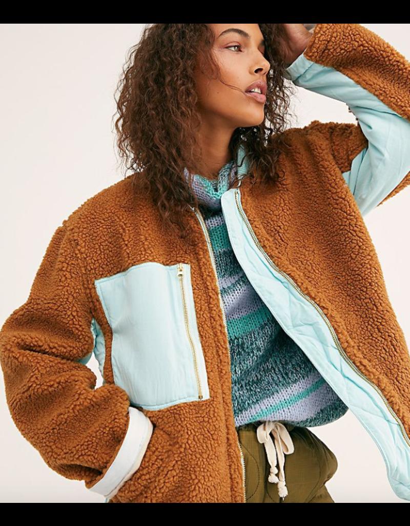 free people rivington sherpa jacket