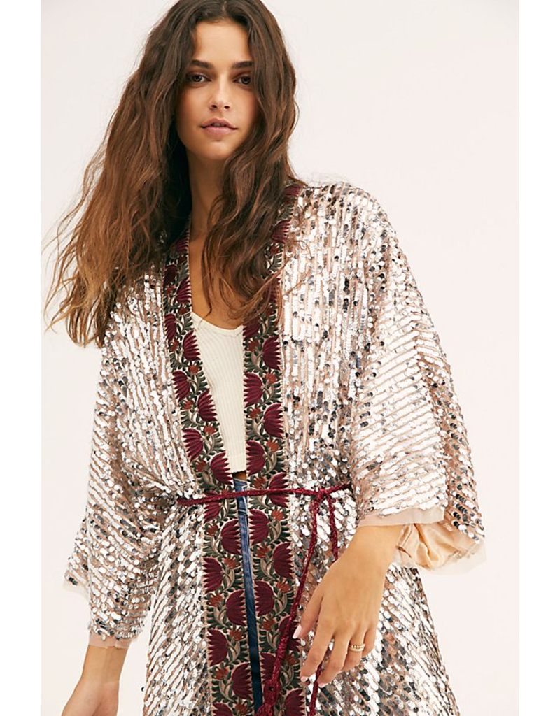 free people light is coming sequin duster