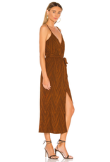 MinkPink minkpink strappy wrap dress