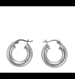 """marrin costello 1"""" hoop earrings"""