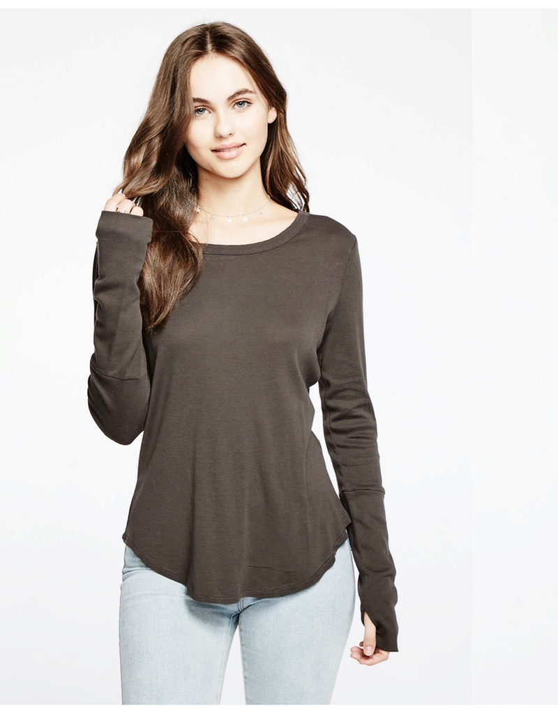 chaser chaser shirttail tee