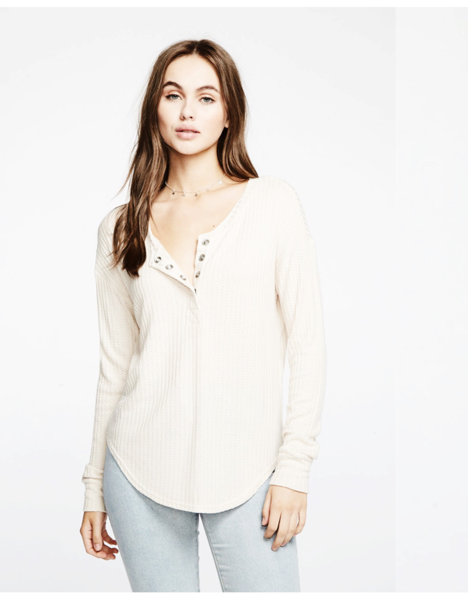 chaser chaser thermal shirtail henley