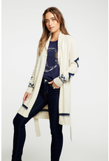 chaser chaser eagle robe cardigan