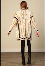 line & dot line & dot dinah cardigan