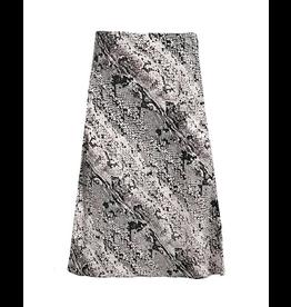rd style snake print skirt