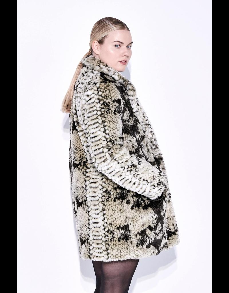 flight lux apparis sydney faux fur jacket