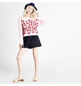 wildfox wildfox flora blooming poppies sweater