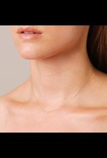 flight lux pave curve necklace