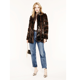 heartloom tori faux fur coat